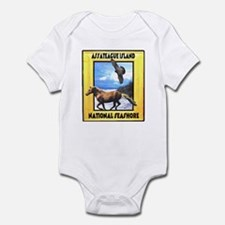 Assateague island national Se Infant Bodysuit