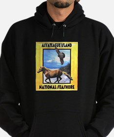 Assateague island national Se Hoodie (dark)