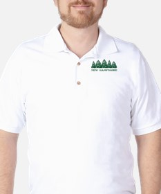 NH Winter Evergreens T-Shirt