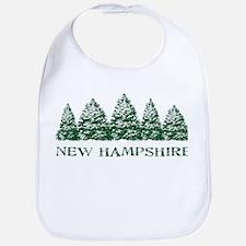 NH Winter Evergreens Bib