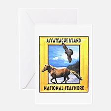 Assateague island national Se Greeting Card