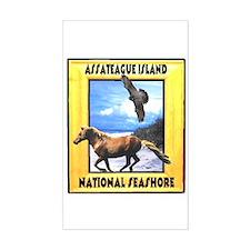 Assateague island national Se Rectangle Bumper Stickers