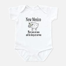 New Mexico Sheep Infant Bodysuit
