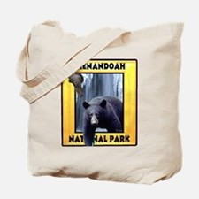 Shenandoah Nationl Park Bear Tote Bag