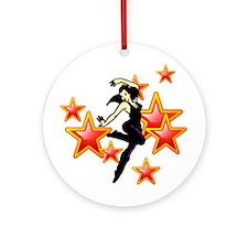Dance Stars Ornament (Round)