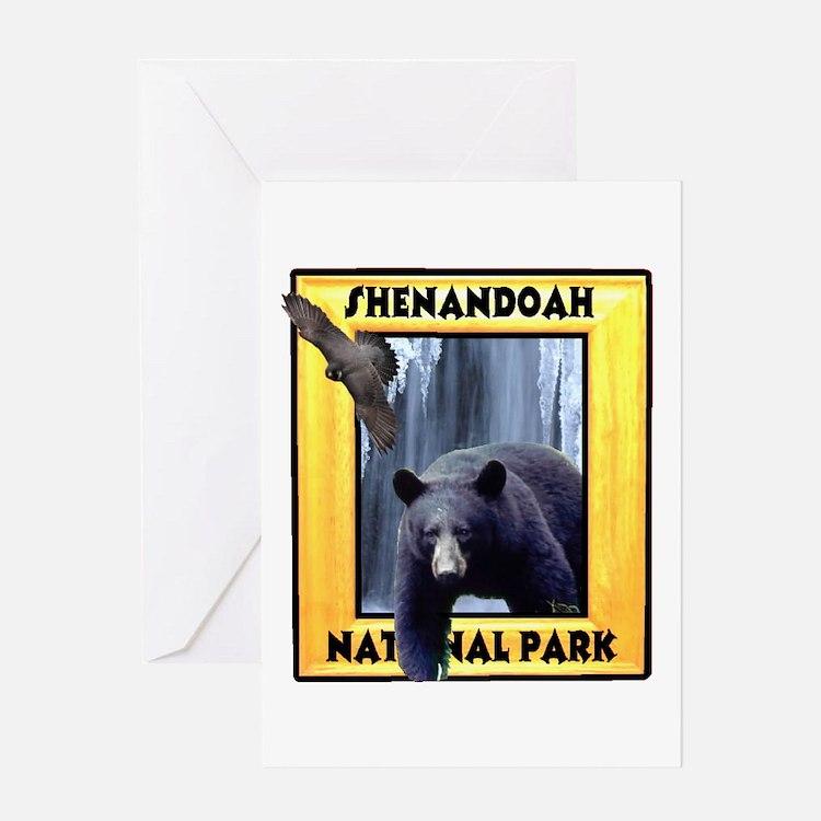 Shenandoah Nationl Park Bear Greeting Card