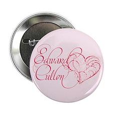 """Edward Cullen Heart 2.25"""" Button"""