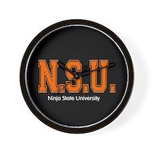 Ninja State Uni Wall Clock