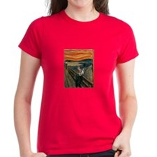 The Scream with Cats Tee