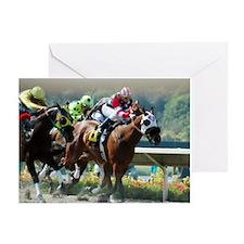 Racing Greeting Card
