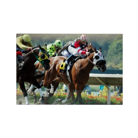 Racing Rectangle Magnet (100 pack)
