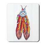 Feathers Mousepad