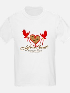 Cute Cardinal heart T-Shirt