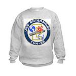 USS Enterprise (CVN 65) Kids Sweatshirt