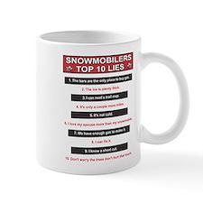 Snowmobilers Top Ten Lies Mug