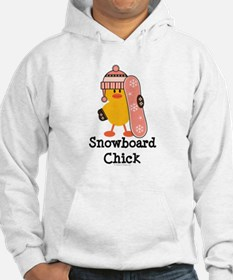 Snowboard Chick Jumper Hoody