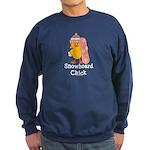 Snowboard Chick Sweatshirt (dark)