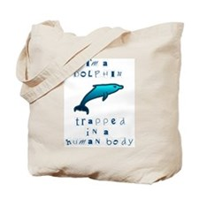 I'm a Dolphin Tote Bag