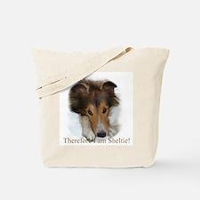Cute Shetland sheepdog Tote Bag