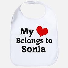 My Heart: Sonia Bib