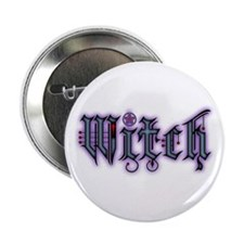 "Witch 2.25"" Button"