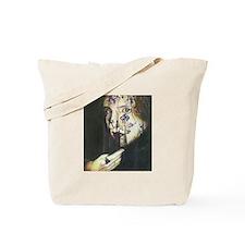 Veiled Girl Tote Bag