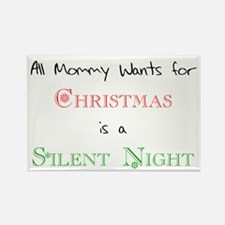 Mommy Xmas Rectangle Magnet