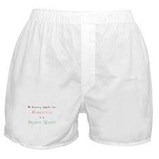 Mommy Xmas Boxer Shorts