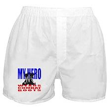 MY HERO WEARS COMBAT BOOTS Boxer Shorts