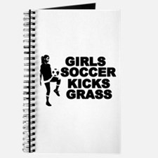Girls Soccer Kicks Journal