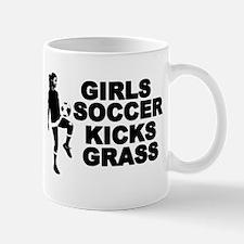 Girls Soccer Kicks Mug