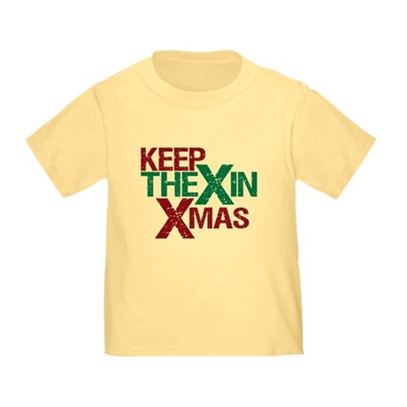 Keep the X in Xmas Toddler T-Shirt