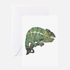 Funny Jacksons chameleon Greeting Card