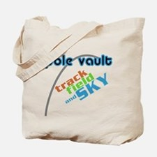 Pole Vault Sky Tote Bag