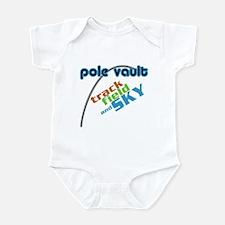 Pole Vault Sky Infant Bodysuit