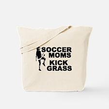 Soccer Moms Kick Grass Tote Bag