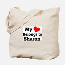 My Heart: Sharon Tote Bag