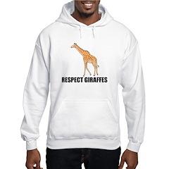 Respect Giraffes Hoodie