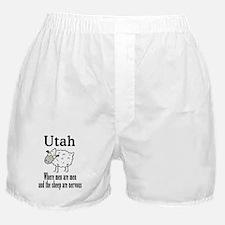 Utah Sheep Boxer Shorts