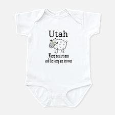 Utah Sheep Infant Bodysuit