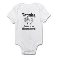 Wyoming Sheep Infant Bodysuit