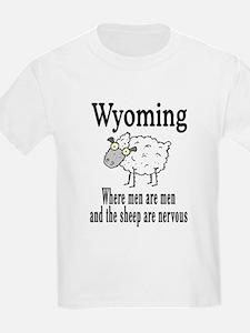 Wyoming Sheep T-Shirt