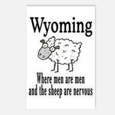 Wyoming Sheep Postcards (Package of 8)