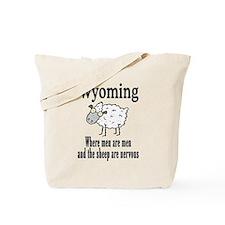 Wyoming Sheep Tote Bag