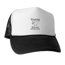 Wyoming Sheep Trucker Hat