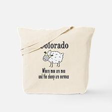 Colorado Sheep Tote Bag