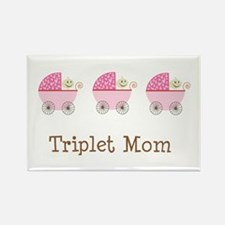 Triplet Mom Buggies GGG Rectangle Magnet
