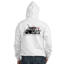Lighter is Better Front/Rear Hoodie