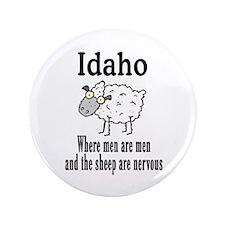 "Idaho Sheep 3.5"" Button"