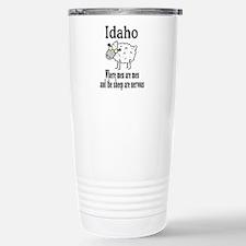 Idaho Sheep Stainless Steel Travel Mug